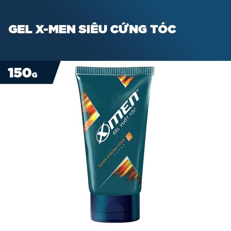 Gel vuốt tóc X-men Siêu cứng tóc 150g - Super Strong Hold | GEL X-MEN SUPER STRONG HOLD giá rẻ