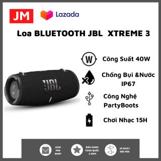 Loa Bluetooth JBL Xtreme 3 - Loa Nghe Nhạc, Karaoke Công Suất Lớn 40W - Loa Bass Mạnh, Treble Rời - Tương Thích Với Máy Tính, Vi Tính, LapTop, PC - Chống Nước, Chống Bụi IP67 -Loa Pin Trâu Chơi Nhạc Lên Tới 15h -BH 1 Năm Toàn Quốc thumbnail