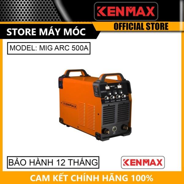 Máy hàn điện tử Ø2.5-6.0 Kenmax MIG/ARC-500A- HÀNG CHÍNH HÃNG