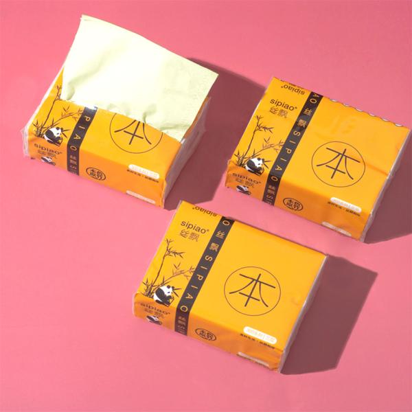 Khăn giấy gấu trúc Sipiao chính hãng làm bột nặn hoa chuyên dụng (Gói 300 tờ) giá rẻ
