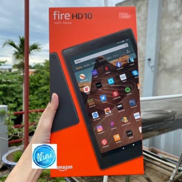 Kindle Fire HD 10 đời mới 2020 sản phẩm tốt độ bền cao cam kết sản phẩm nhận được như hình và mô tả
