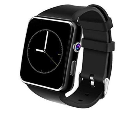 Đồng hồ thông minh X6 Plus màn hình cong 2.5D cảm ứng - Gắn sim nghe gọi như điện thoại, có khe thẻ nhớ lưu trữ, chụp hình giải trí đa dụng. Bảo hành 12 tháng