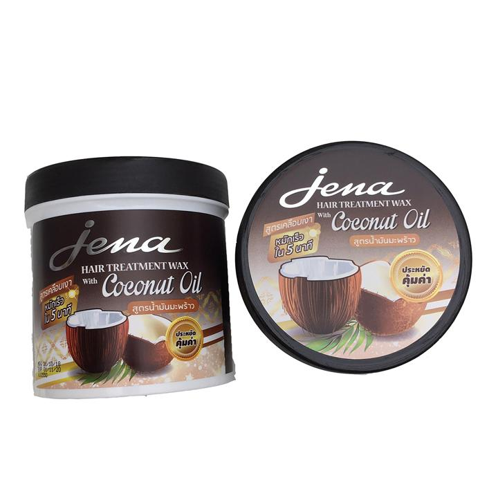 [Size - 500ml ] Kem ủ tóc tinh dầu dừa Jena Coconut Hair Treatment Wax