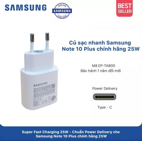 Củ Sạc Nhanh Samsung Note 10 Plus 25W