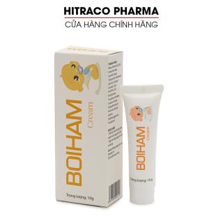 Kem bôi hăm cho trẻ sơ sinh Boiham Cream dưỡng ẩm, giảm mẩn ngứa, ban đỏ - Tuýp 10g thumbnail