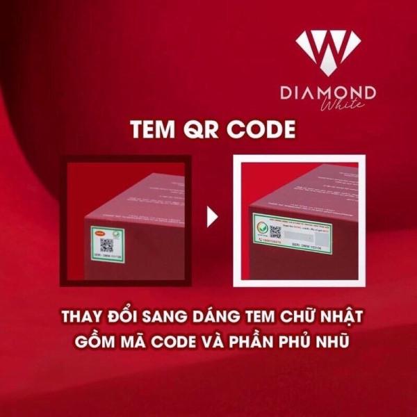 viên uống trắng da Ngọc trinh diamond white ( tem nguyên check được tin nhắn sms gởi td 8077) giá rẻ