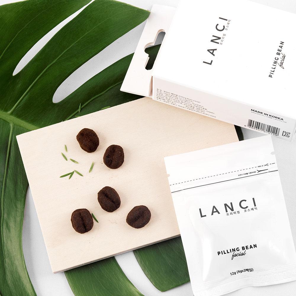 Tẩy Tế Bào Chết Lanci Pilling Bean Premium Coffee Scrub Soap 12gr tốt nhất
