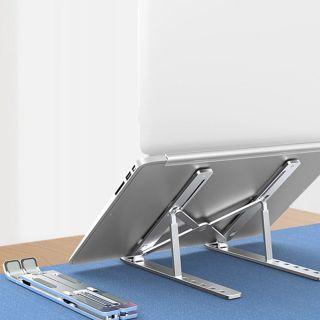 MSRC Hợp kim Tấm đệm Không trượt Máy tính xách tay Riser Giá đỡ máy tính xách tay Giá đỡ máy tính xách tay Phụ kiện máy tính xách tay Máy tính xách tay có thể gập lại thumbnail