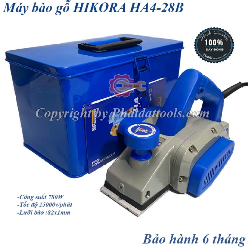Máy bào gỗ HIKORA HA4-28B-Hộp sắt-Công suất  780W-Bảo hành 6 tháng