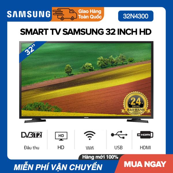 Bảng giá Smart Tivi Samsung 32 inch HD - Model UA32N4300 (Đen) - Bảo Hành 2 Năm