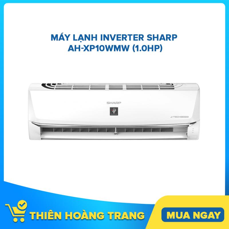 Bảng giá Máy lạnh Sharp Inverter 1 HP AH-XP10WMW - Tặng Bộ Nồi Sharp PR-J03