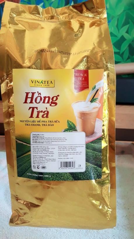 Hồng Trà 1 Kg - Nguyên Liệu Pha Trà Sữa, Trà Chanh, Trà đào. 01 Túi Pha được Hơn 500 Ly. Giá Tiết Kiệm Nhất Thị Trường