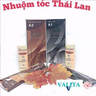 [Freeship] Thuốc Nhuộm Tóc Berina Thái Lan VALITA nhuộm tại nhà tiện lợi, màu nhuộm đẹp, tiết kiệm thời gian-60ml thumbnail