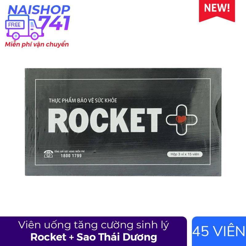 Rocket + - Rocket Plus tăng cường sinh lý nam, Hộp 45 viên cao cấp