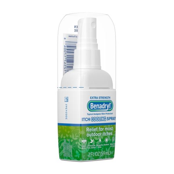 [HCM]CHAI XỊT TRỊ NGỨA CÔN TRÙNG CẮN VIÊM DA Benadryl Extra Strength Anti-Itch Spray 59ml giá rẻ