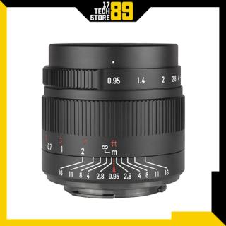 Ống kính 7artisans 35mm F 0.95 (Manual Focus) Ngàm Fujifilm-Sony thumbnail