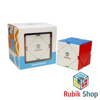 [Siêu hót Gan Monster Go] Rubik Biến thể 6 mặt GAN monster go Skewb Stickerless thumbnail