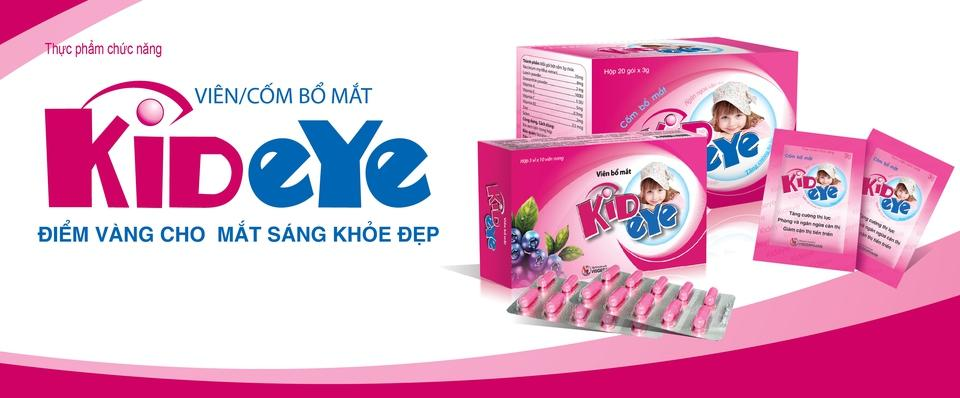 Kideye Cốm bổ mắt  ( Hộp 20 gói)