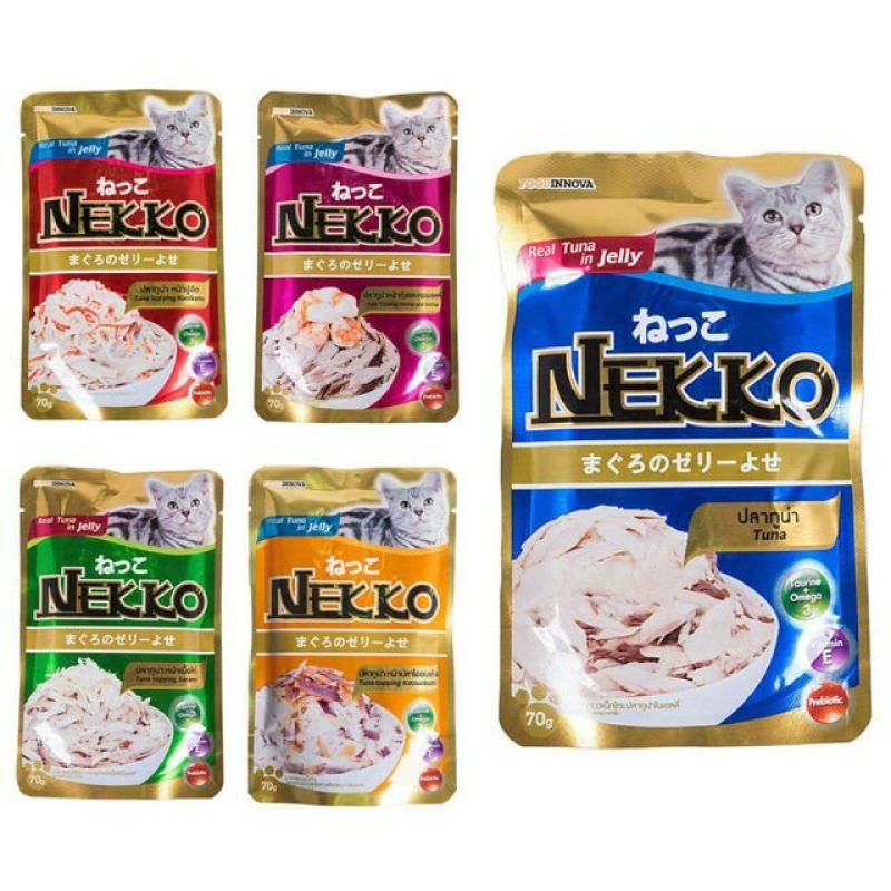 Pate nước sốt cho Mèo Nekko-18k