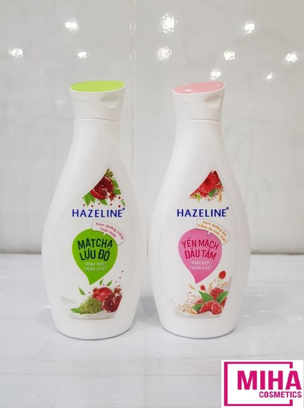 Sữa Dưỡng Thể HAZELINE Sáng Da Mềm Mịn 230ml cao cấp