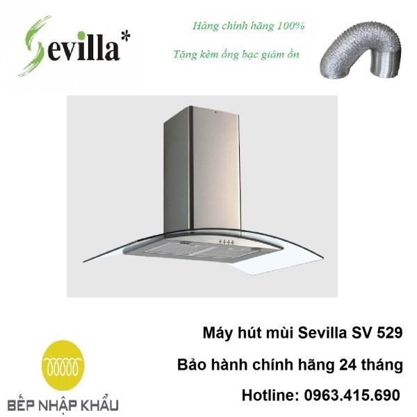 Bảng giá Máy hút mùi Sevilla SV 529, được thiết kế tinh tế, hiện đại, làm từ chất liệu hợp kim cao cấp, chống va đập, khử mùi tuyệt đối Điện máy Pico