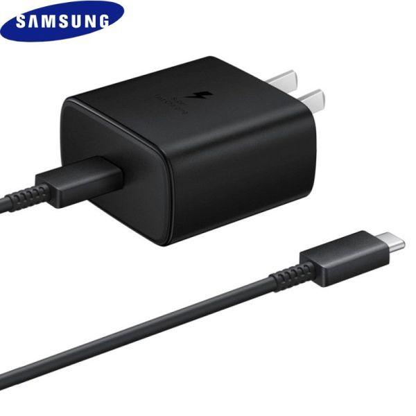 Bộ sạc Samsung 45w cho Galaxy Note 10 Plus/Note 20/ S20 Ultral chính hãng - EP TA845