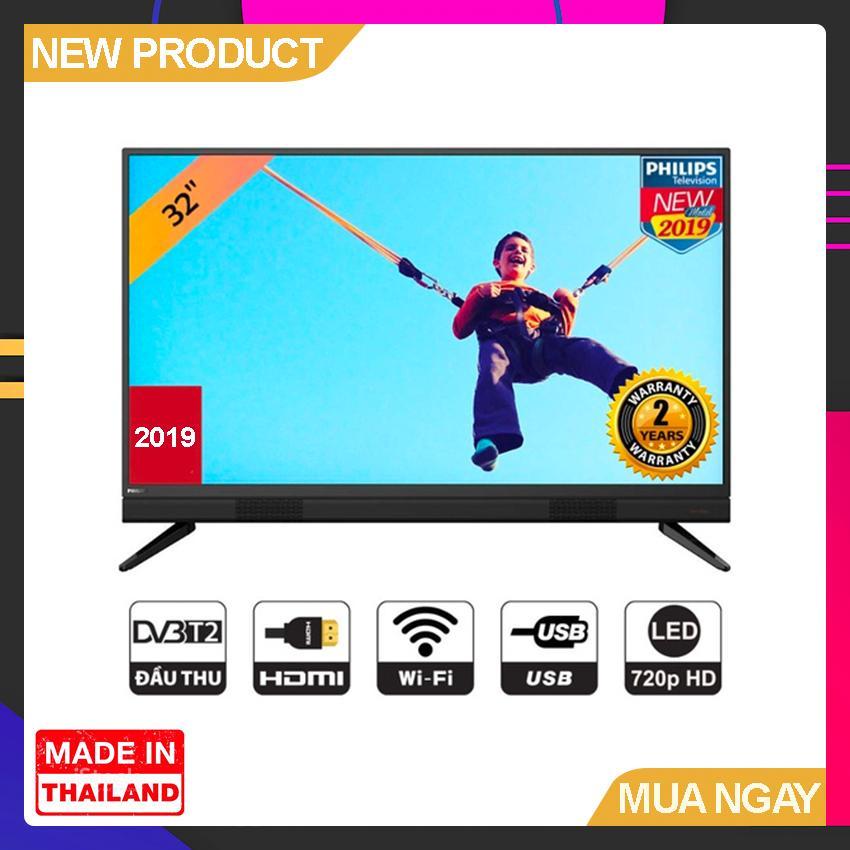 Bảng giá Smart TV Philips 32 inch HD - Model 32PHT5883S/74 (Đen) HD Ready, Tích hợp DVB-T2, Wifi - Bảo Hành 2 Năm