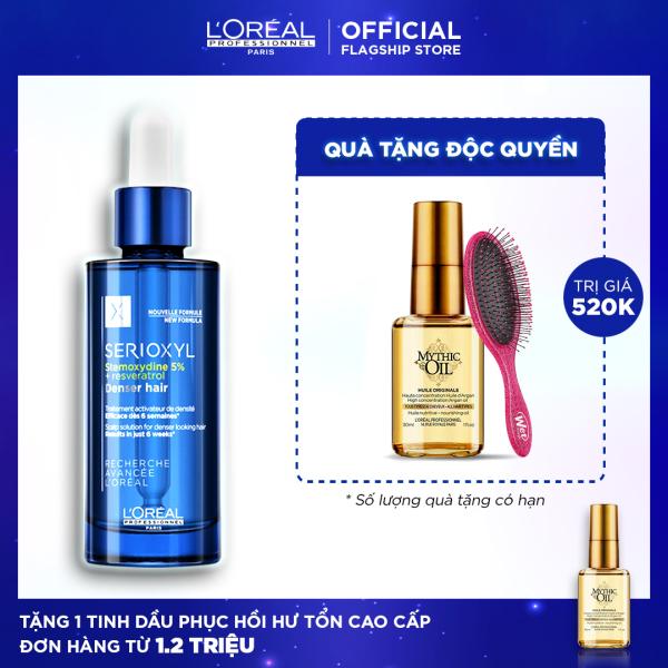 Tinh chất hỗ trợ mọc tóc LOreal Professionnel Serioxyl Denser Hair 90ml tốt nhất