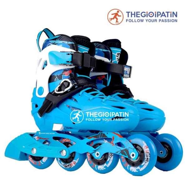 Phân phối BẢO HÀNH 3 NĂM] Giày Patin Flying Eagle S5S+ ( tặng túi đựng chuyên dụng) - Giày trượt patin Flying Eagle S5S+ cho bé yêu