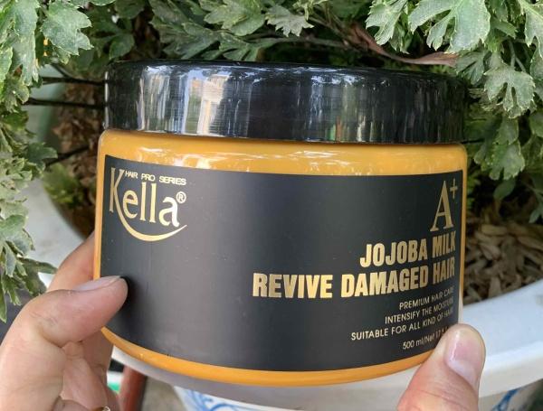[HCM]Hấp tóc phục hồi Kella A+ Jojoba Milk Revive Damaged Hair 500ml giá rẻ