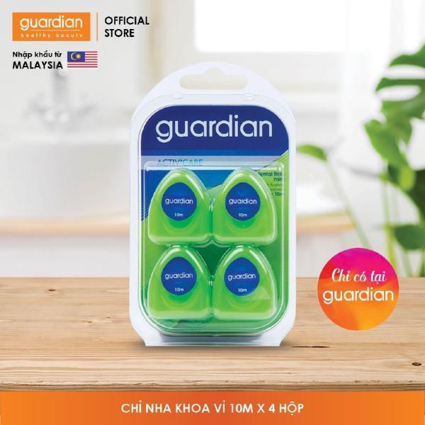 Chỉ nha khoa Guardian Dental Floss 10m x 4 hộp giá rẻ
