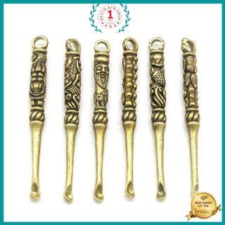 Tượng trang trí móc treo chìa khóa chất liệu đồng nguyên chất không gỉ sét đem lại may mắn tài lộc chế tác thủ công thumbnail