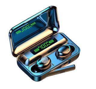Tai nghe bluetooth BTH F9 5 tai nghe không dây Bluetooth 5.0 Pro, âm thanh 9D, chống nước, chống ồn Tai nghe bluetooth pin 3500 mAh kiêm sạc dự phòng cho điện thoại 8