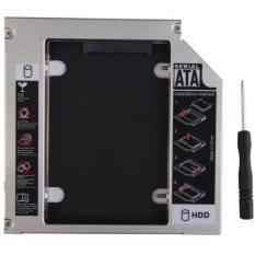 Hình ảnh Caddybay mỏng 9.5mm chuẩn SATA dùng để lắp thêm 1 ổ cứng / SSD thay vào vị trí của ổ DVD
