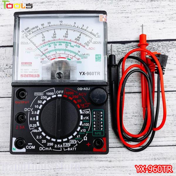 Đồng hồ đo Samwa YX-960TR, Đồng hồ vạn năng SAMWA, Đồng hồ đo điện vạn năng ( tặng kèm pin 9v và 1.5v)