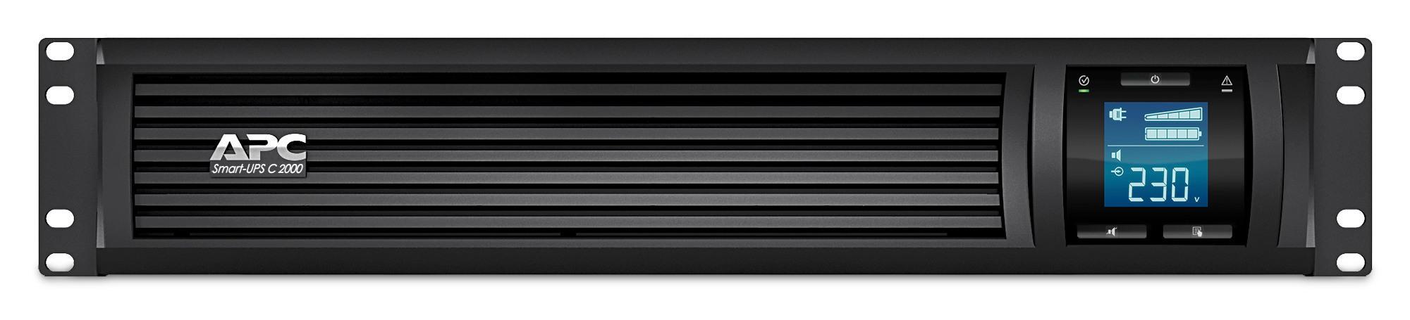 Bảng giá Bộ lưu điện: Smart-UPS C 2000VA LCD RM 2U 230V - SMC2000I-2U Phong Vũ