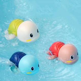 Đồ chơi nhà tắm bé rùa bơi vặn dây cót đáng yêu bằng nhựa nguyên sinh ABS an toàn cho bé đủ màu sắc BBShine DC023 thumbnail
