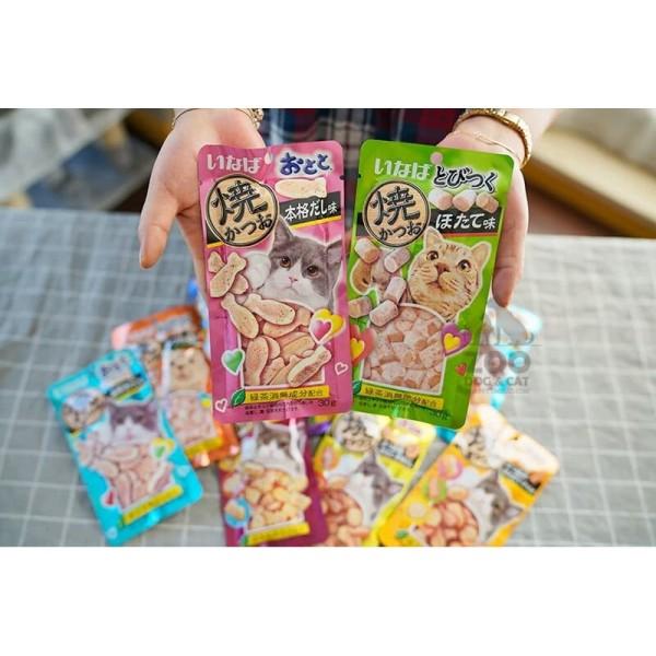 Inaba soft bits mix 25g - bánh thường cho mèo