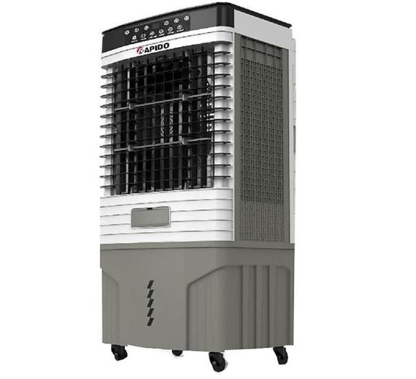 Quạt điều hòa không khí Rapido TURBO 9000D (Điều khiển từ xa) (Có thể lắp thêm tấm lọc nano) - Hàng Chính Hãng