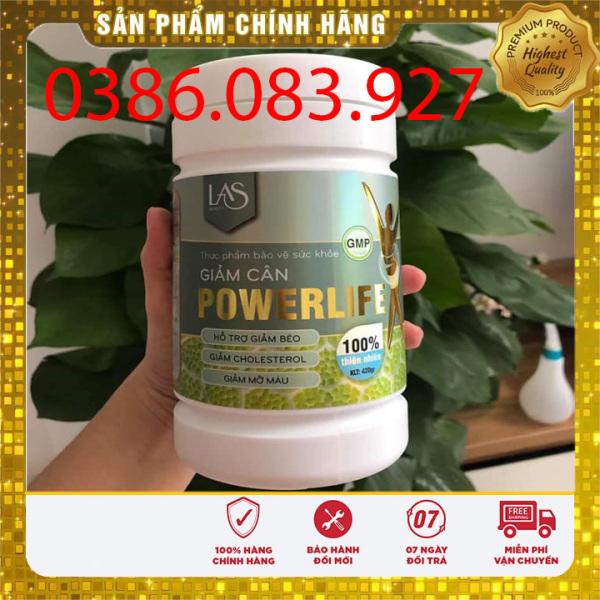 [CHÍNH HÃNG] Trà sữa giảm cân POWERLIFE loại nhỏ 260gr LAS BEAUTY cao cấp