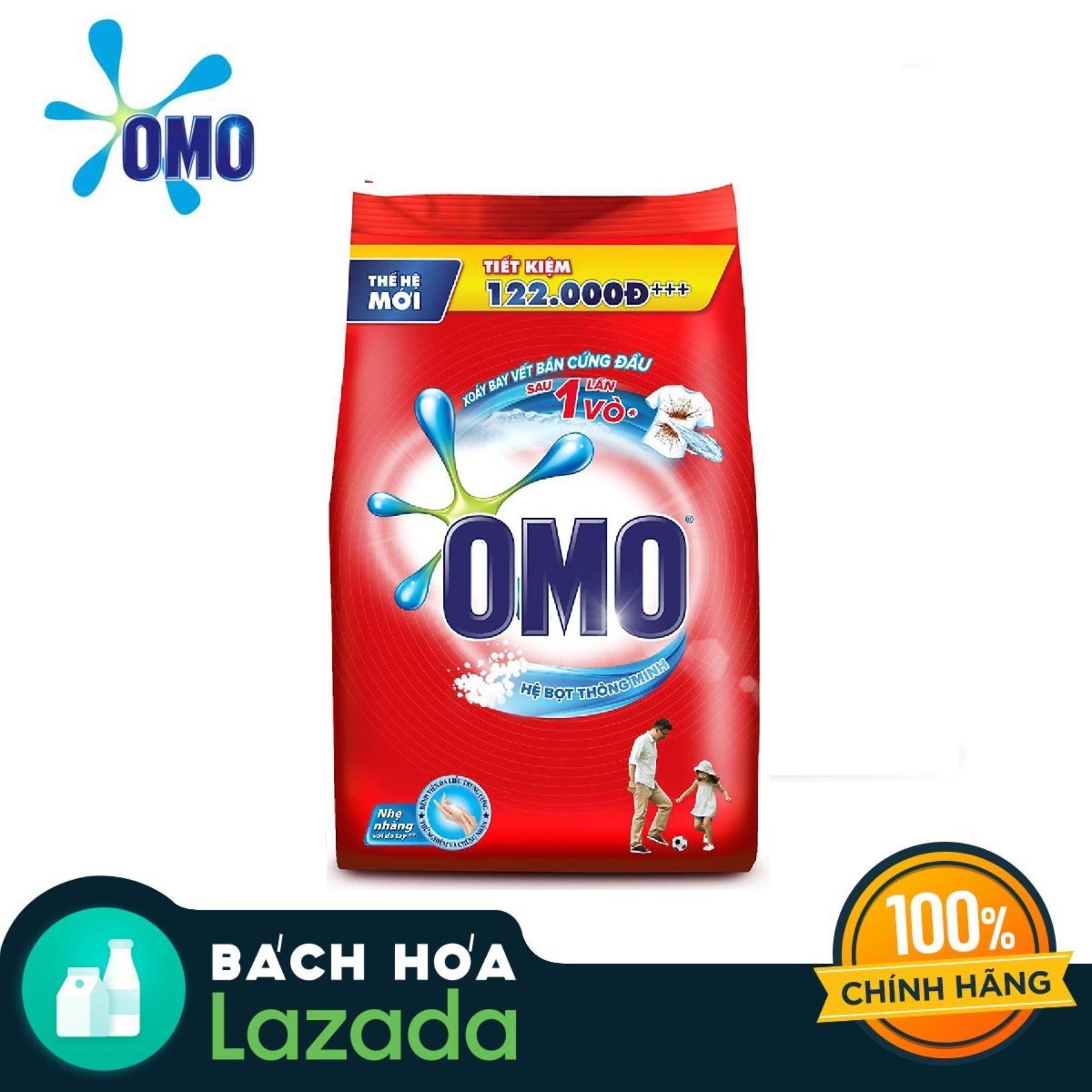 Bột Giặt OMO Hệ Bọt Thông Minh 6kg Giá Rất Tiết Kiệm