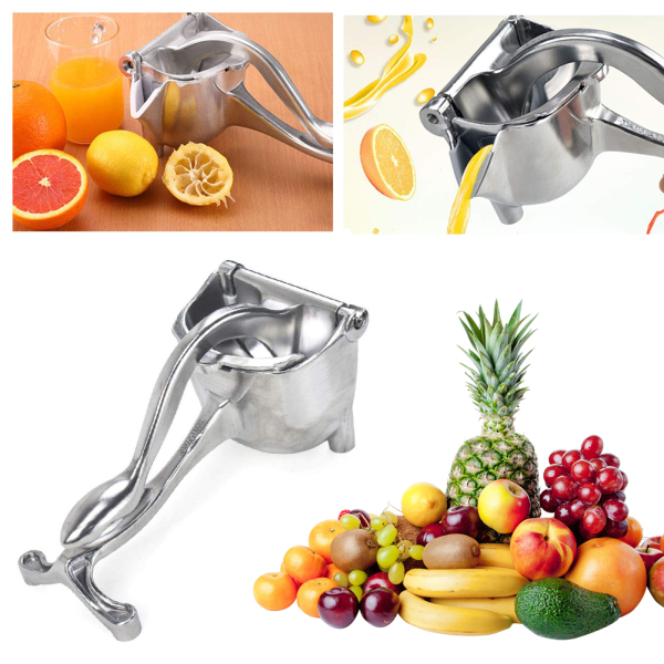 Dụng cụ ép hoa quả cầm tay, Máy ép trái cây, máy vắt cam bằng tay, cối ép trái cây bằng gang