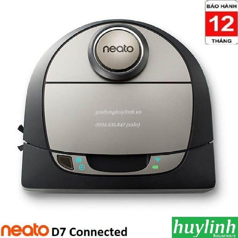 Robot hút bụi Neato D7 Connected - Điều khiển Smartphone - Chính hãng