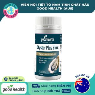 [CHÍNH HÃNG] Viên uống nội tiết tố nam tinh chất Hàu Goodhealth Oyster Plus Zinc 60 viên [tăng cường sức khỏe, sinh lý nam] Hàng Úc (được bán bởi Siêu Thị Hàng Ngoại) thumbnail