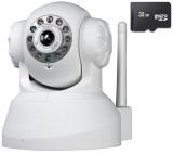 Ôn Tập Camera Ip Wifi Quan Sat Va Bao Động W355 Kem Thẻ Nhớ 32G Trắng Mới Nhất