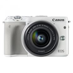 Giá Bán Canon Eos M3 14 2Mp Với Lens Kit 15 45Mm Is Stm Trắng Hang Phan Phối Chinh Thức Rẻ Nhất