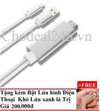 Chiết Khấu Sản Phẩm Cap Lighting To Hdmi Cho Iphone 5 5S Iphone 6 6S 6Plus Ipad Mini Mini 2 Ipad Air Dai 2M Bật Lửa Hinh Điện Thoại