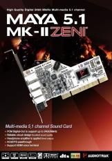 Hình ảnh Card âm thanh Audiotrak Maya 5.1 MK-II Zen I