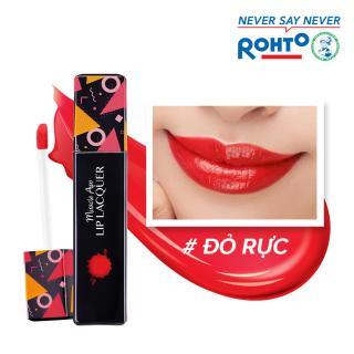 Son kem bóng Miracle Apo Lip Lacquer True Red 3ml (Đỏ rực) thumbnail