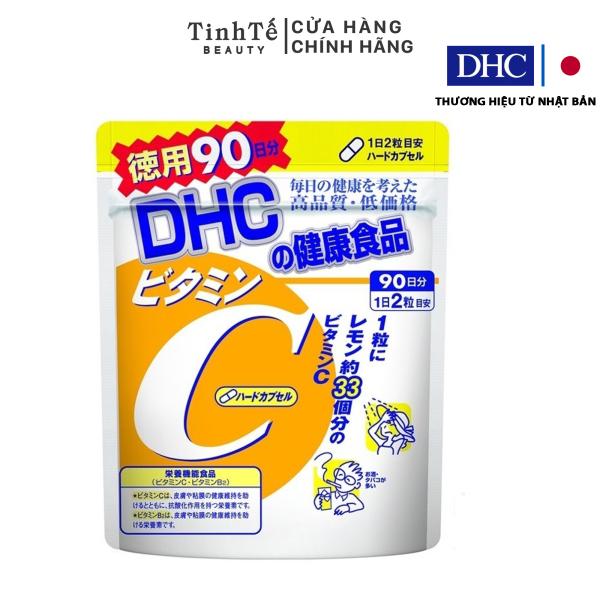 [Lấy mã giảm thêm 30%]Viên uống DHC Bổ sung Vitamin C Nhật Bản 90 ngày (180viên/gói) giá rẻ